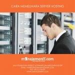 cara memelihara server hosting