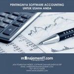 Pentingnya Software Accounting Untuk Usaha Kita